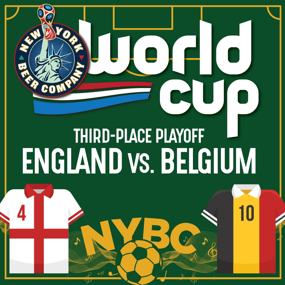 Watch World Cup Third Place NYC ENGLAND vs. BELGIUM
