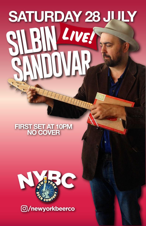 Silbin Sandovar - Moran theme song - live in NYC