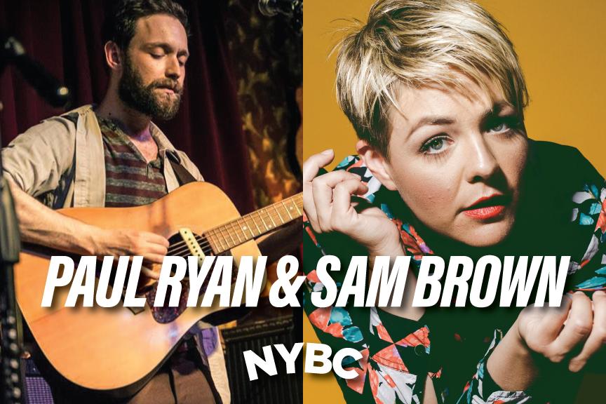 Paul Ryan  & Sam Brown perform live in NYC