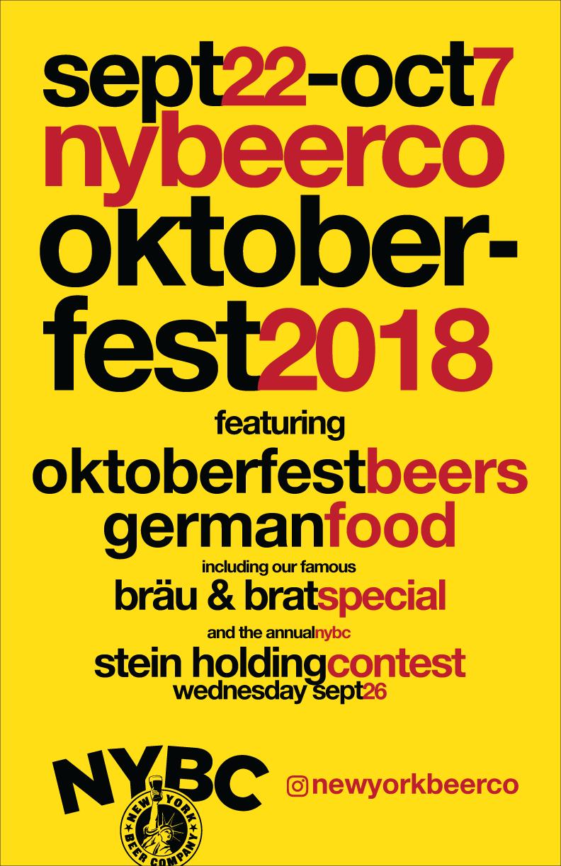NYC Oktoberfest 2018