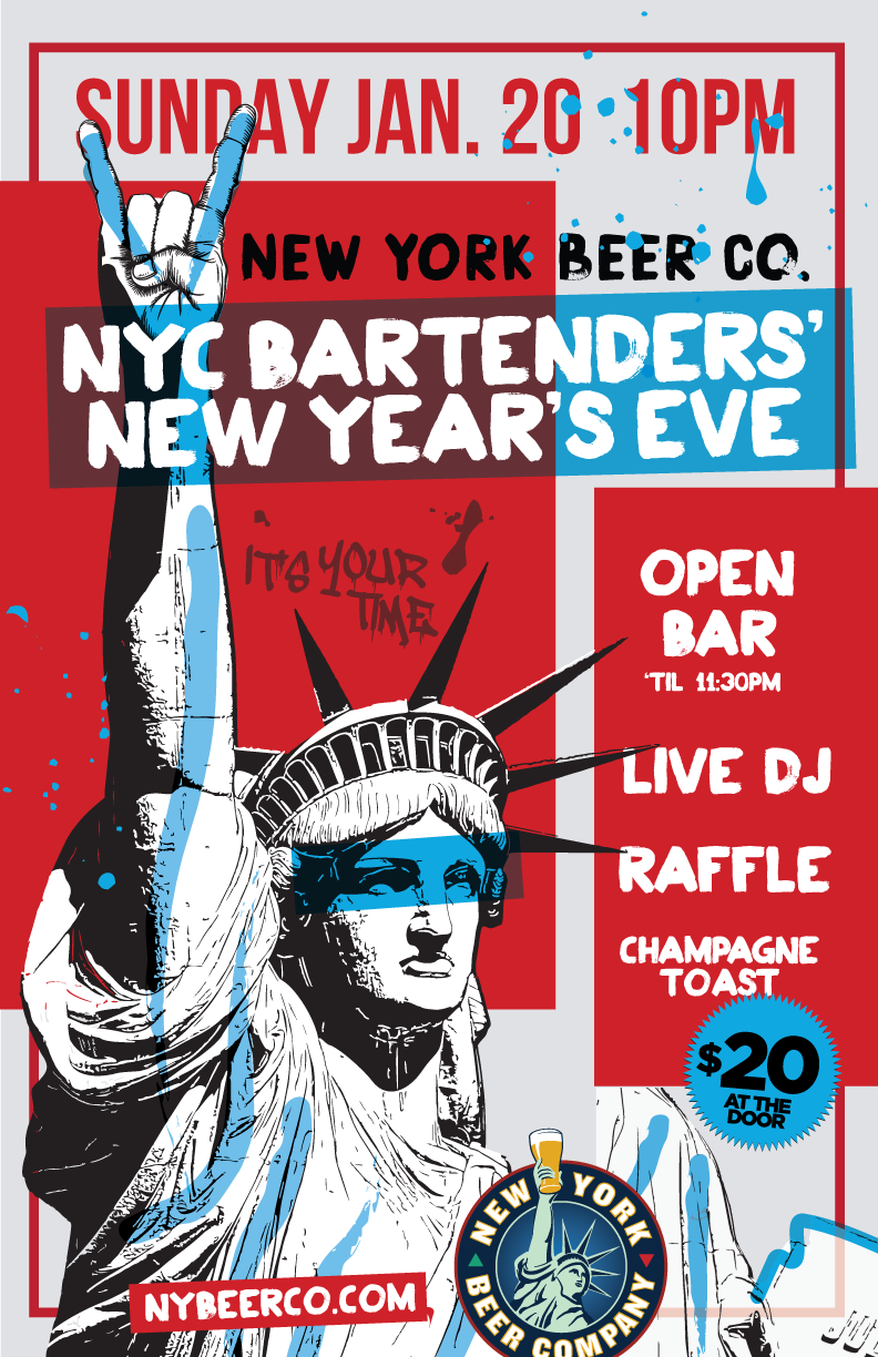 nyc bartenders party new years eve