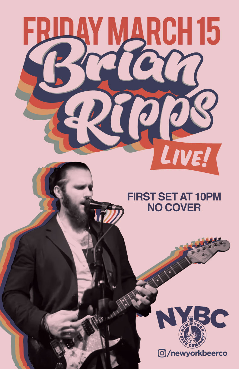 NYC brian ripps live show new york beer company
