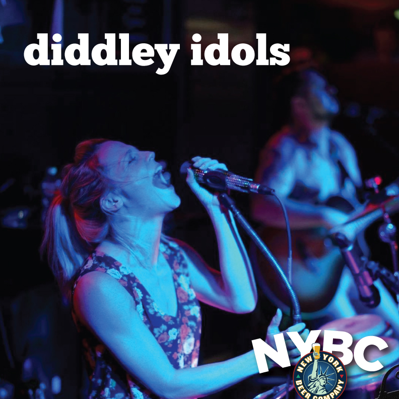 The Diddley Idols live in NYC