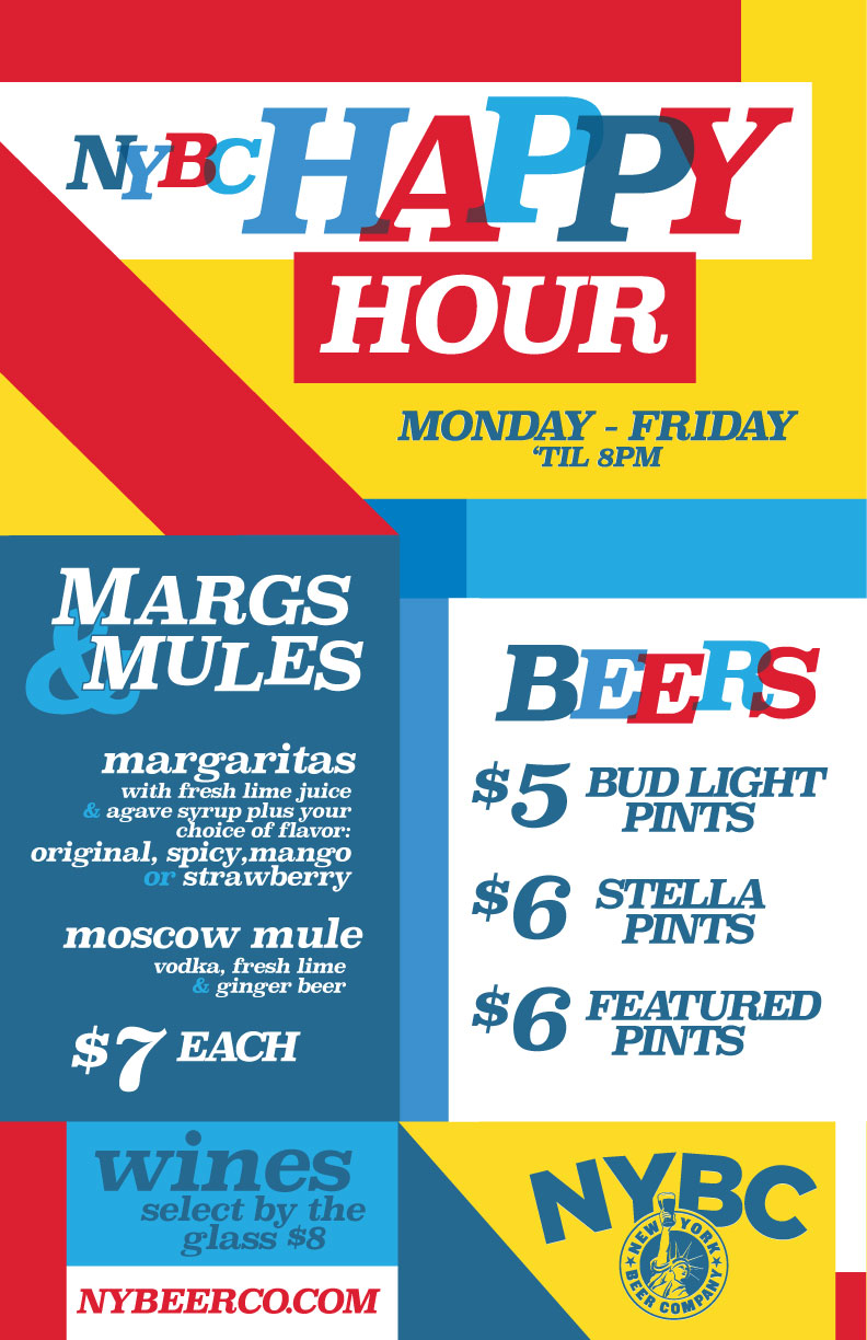 best happy hour times square