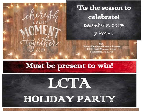 Let the holiday season begin! - ALL members - Be there from 7-8 PM for a FREE drink.