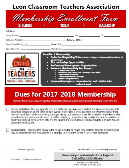 Click the image above to open and print the membership form.
