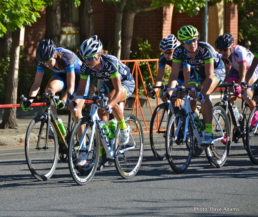 Cascade Cycling Classic Criterium 2014, photo by Dave Adams