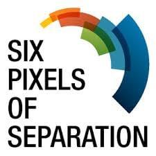 six pixels logo
