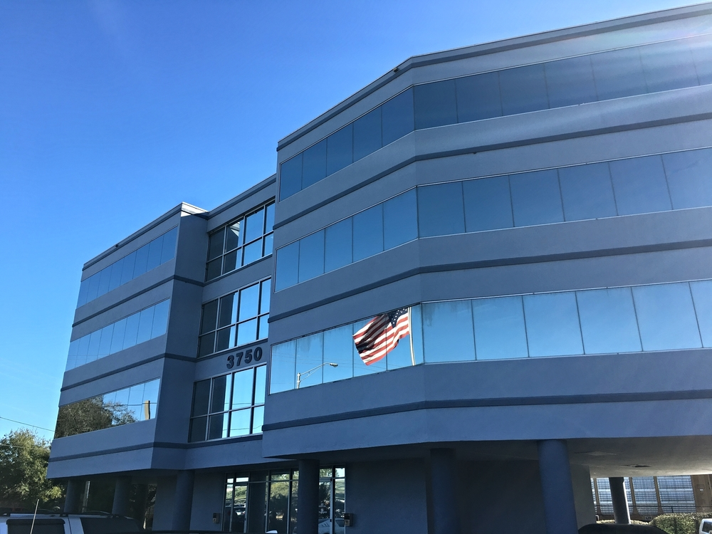 Our first office space, located at 3750 Gunn Hwy in Tampa, FL is a major milestone in our company history.