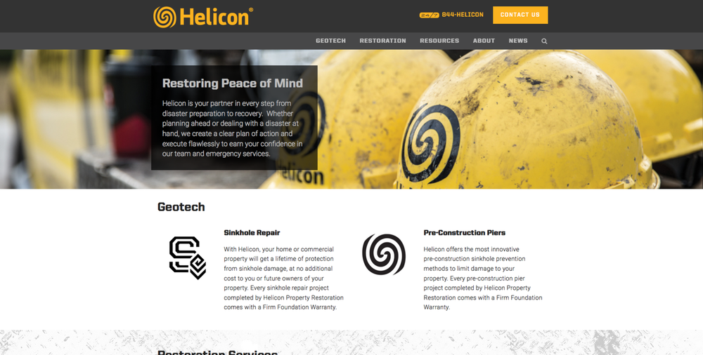 Helicon is the premier property restoration company in Florida. They are experts in fire, water, storm, mold & sinkhole damage.   Visit the site.