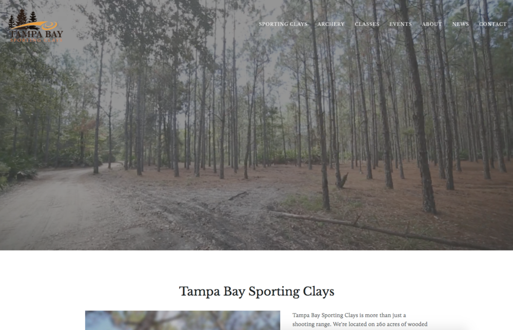 Tampa Bay Sporting Clays is located on 260 acres of wooded terrain and provides a unique facility for the Tampa Bay area..