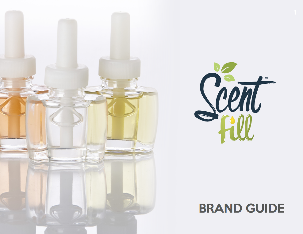 Click here to check out the brand guide we created for Scent Fill