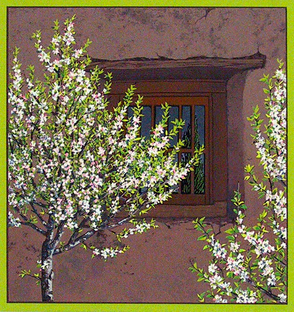 Apple Trees at Guadalupe Church