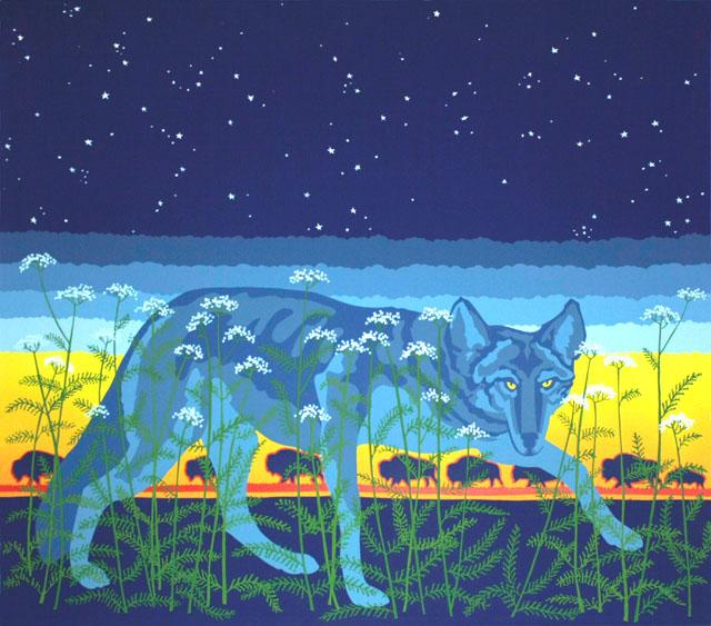 Blue Coyote - Twilight