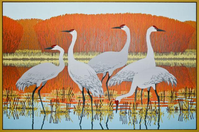 Cranes at Bosque del Apache