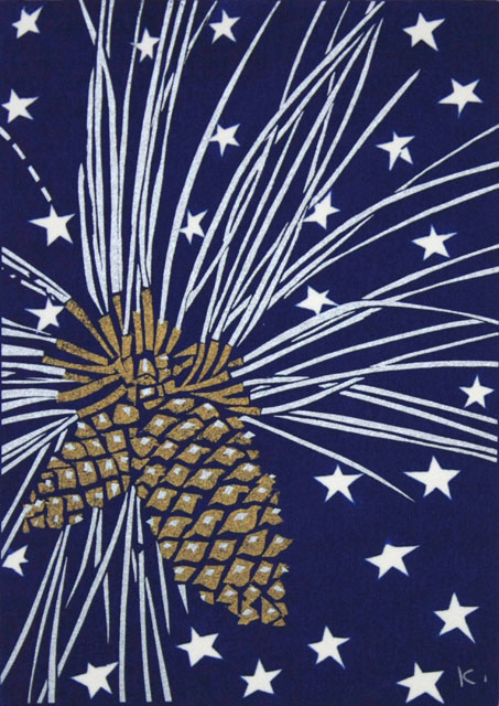 Pine Cone and Stars