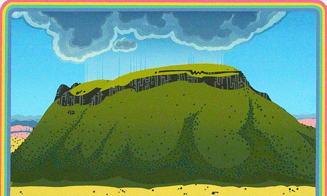 Summer Rain - Black Mesa