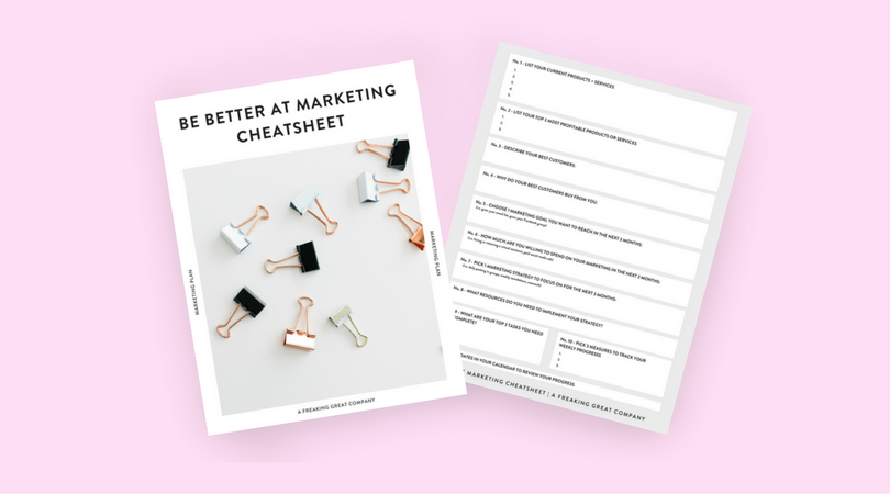 Download Now - My FREE time-saving marketing cheatsheet! Click button below to get yours immediately.