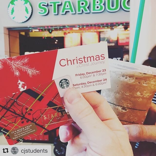 #Repost @cjstudents Just bought gift cards for the five people behind me in line and invited them to Christmas Eve! #CJMerryMonday