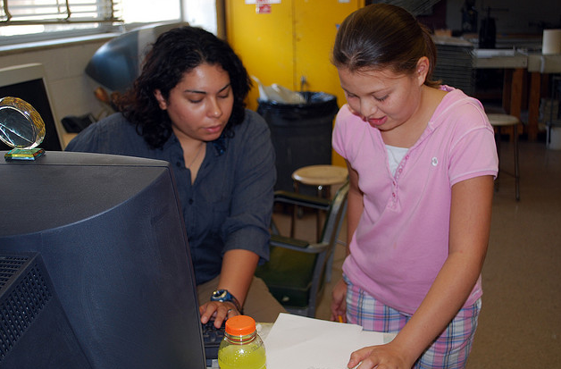 El Tigre Art Camp with Santa Barraza at the University of Texas A&M at Kingsville, 2008.
