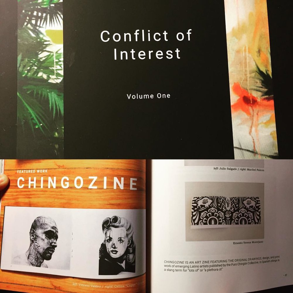 """ChingoZine""  Conflict of Interest  Volume One. 56-59."
