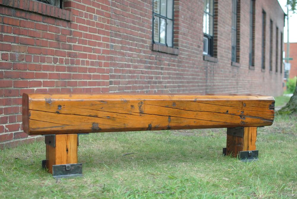 Heart Pine Bench
