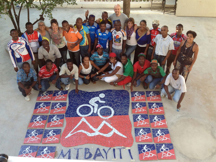 Mountain Bike Haiti community project