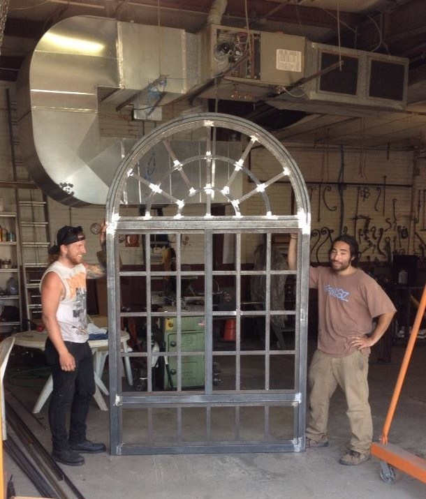 Off to the sandblaster before we paint it. Thanks Kallen and Matt for all your help!