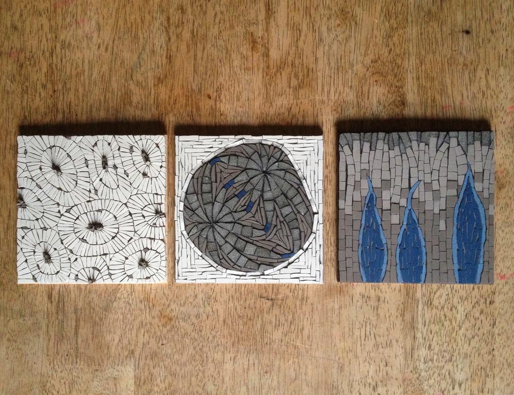 Microscopic Mosaic Series by Johannah Willsey, 2016