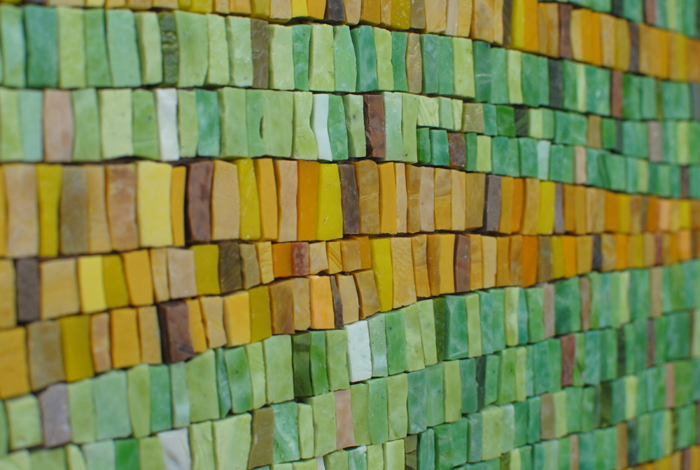 Nothing Gold Can Stay mosaic detail