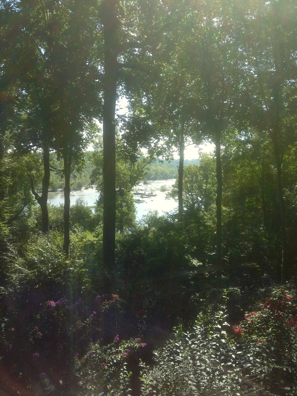 View of the James River