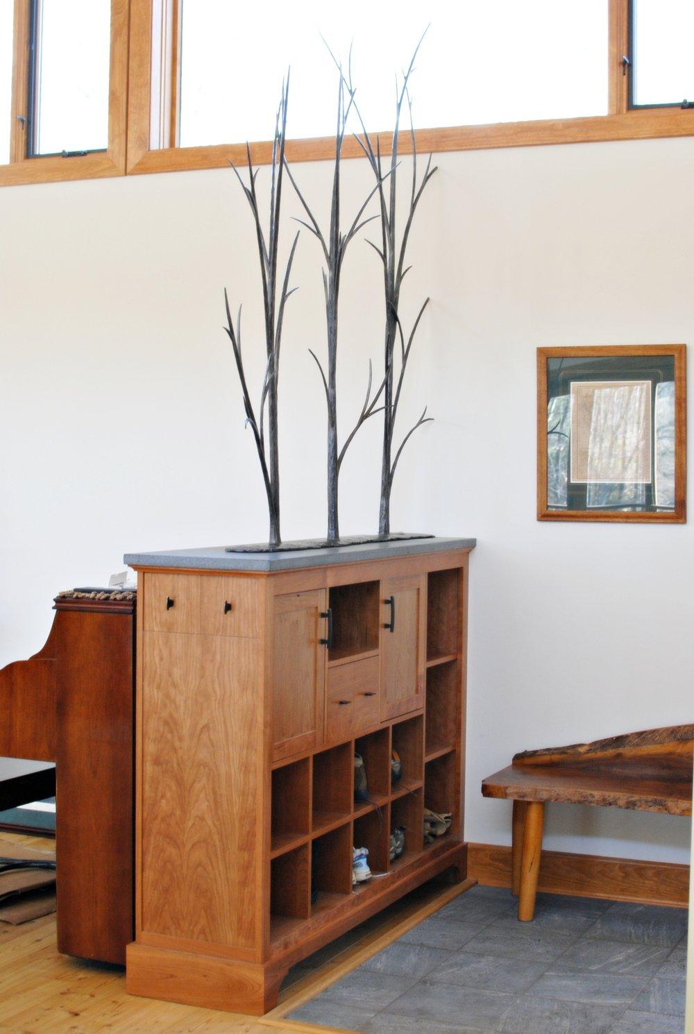 Woodlands forged steel room divider