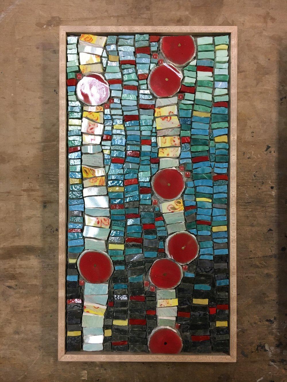 Floral Landscape mosaic PH2016