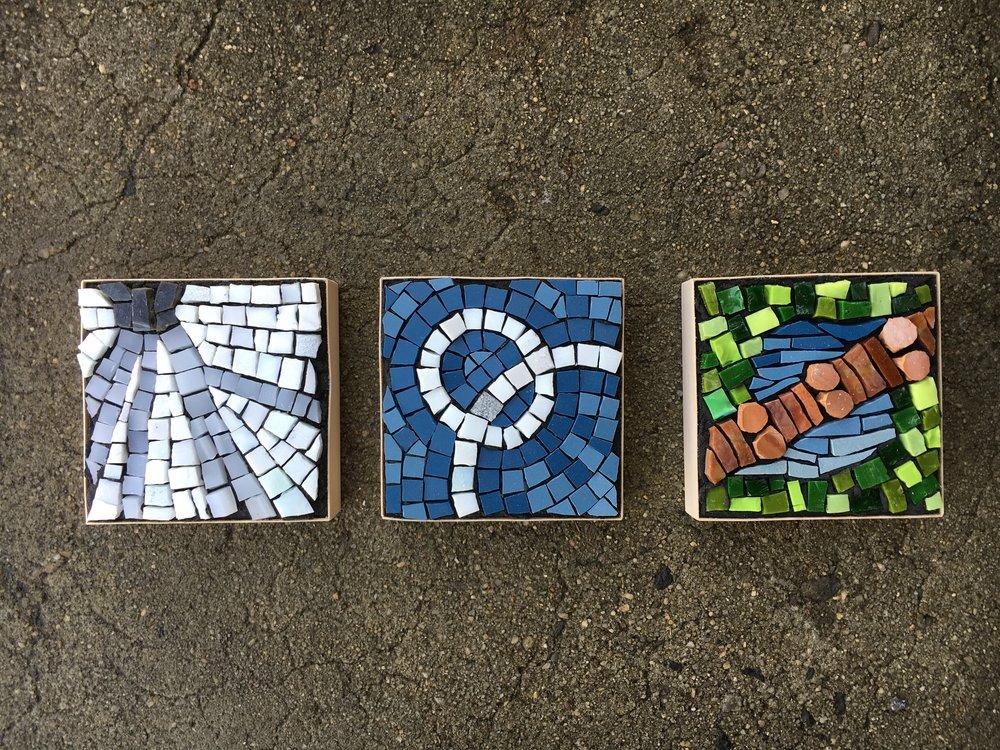 Landscape  mosaic series