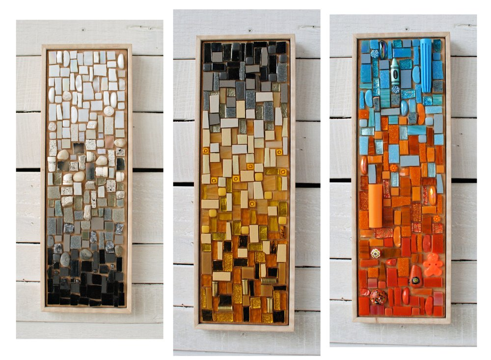 Color Gradient mosaic series