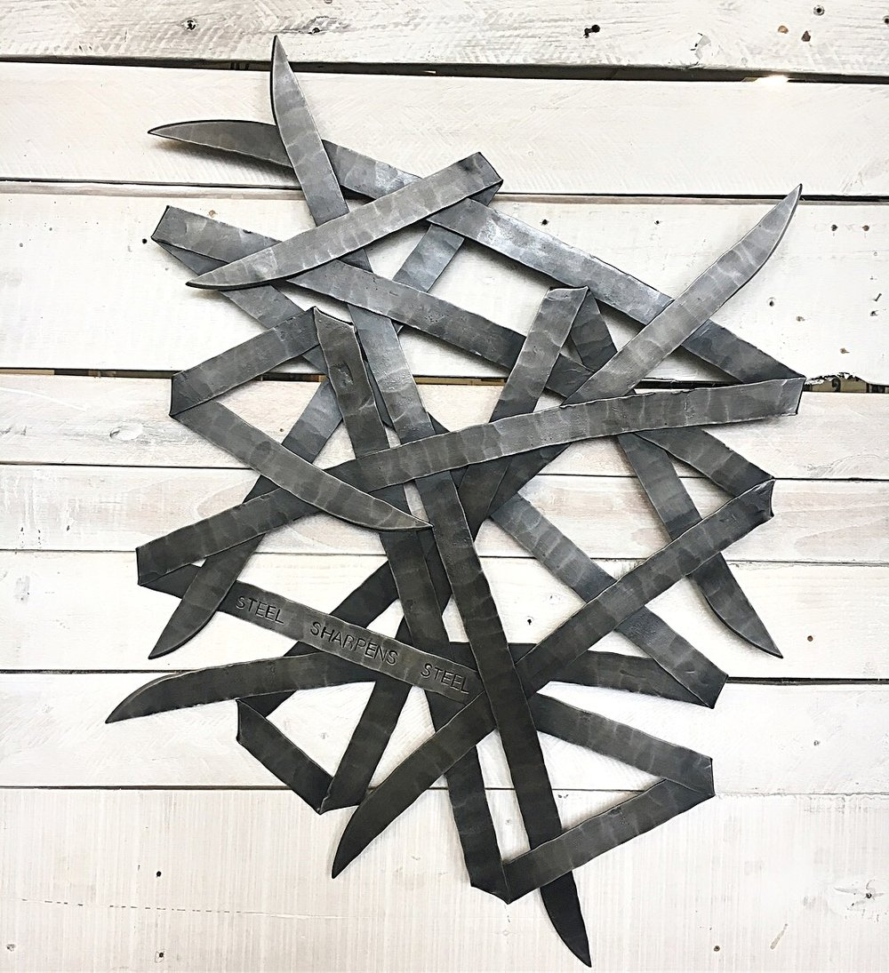 Forged sculpture