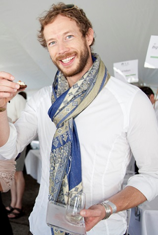 Kris Holden-Ried at the  Stratford Culinary Festival , Toronto.
