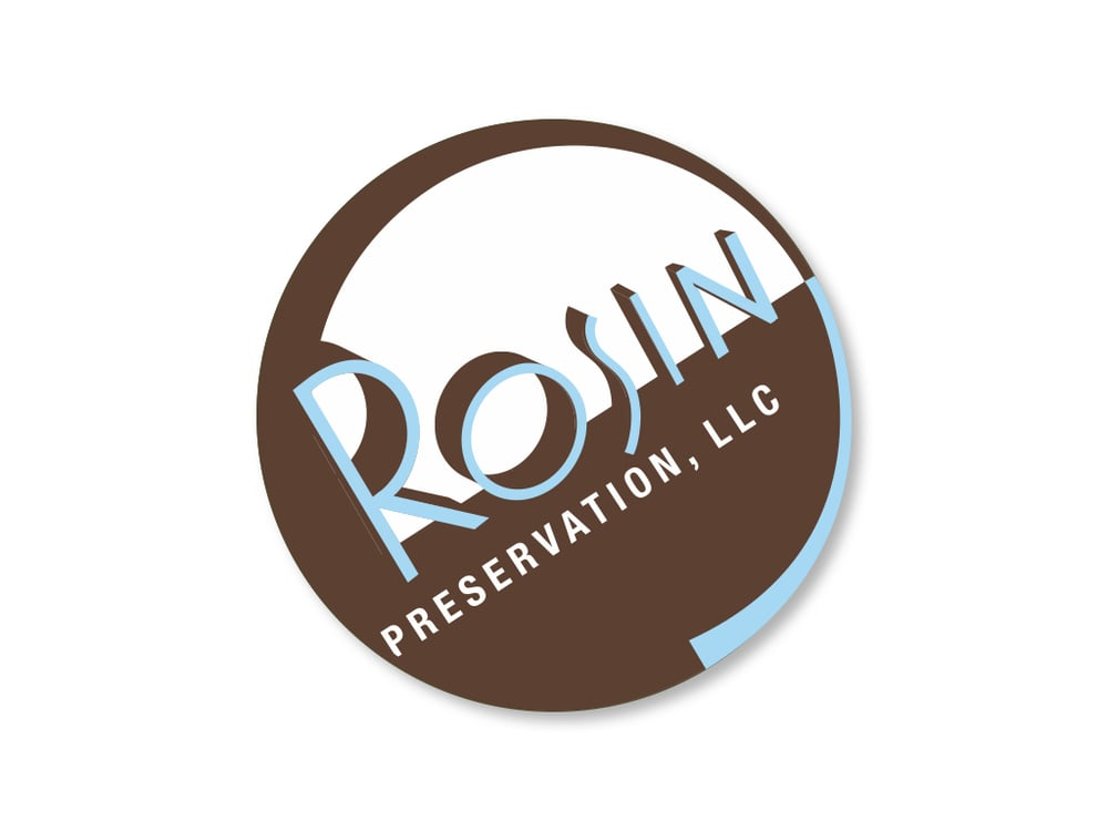 Rosin Preservation logo, before