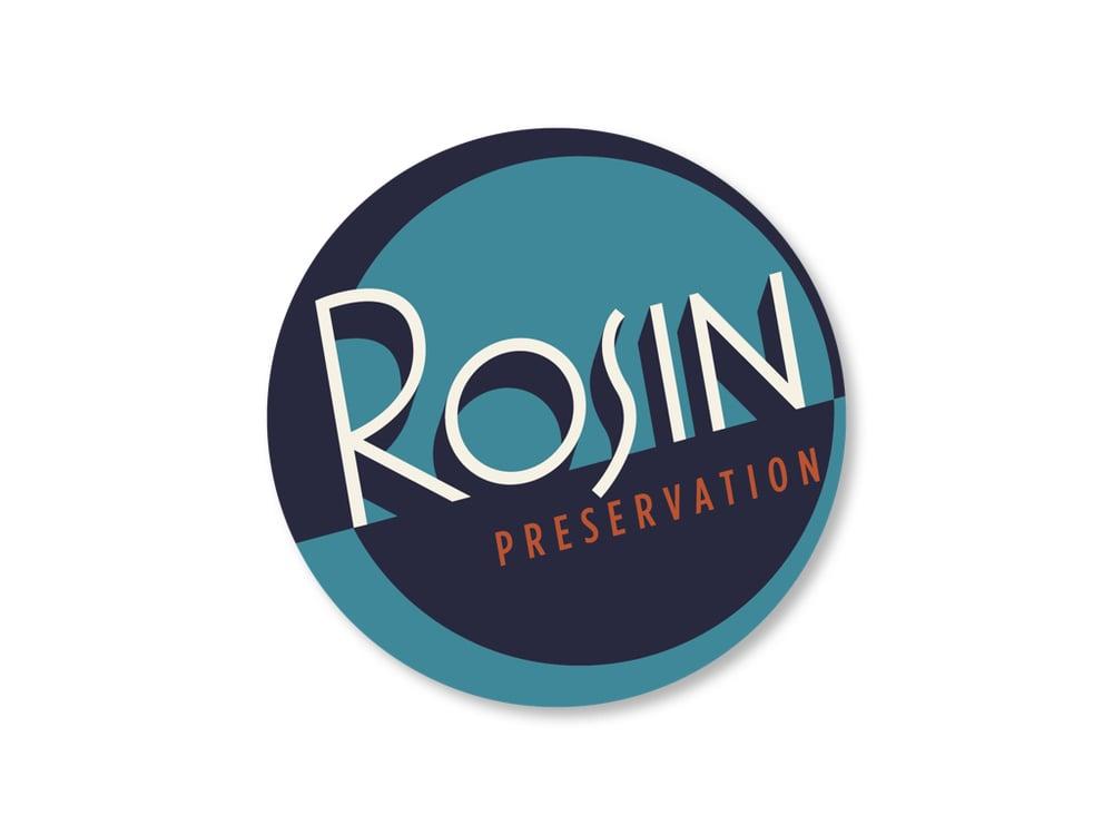 Rosin Preservation logo, after