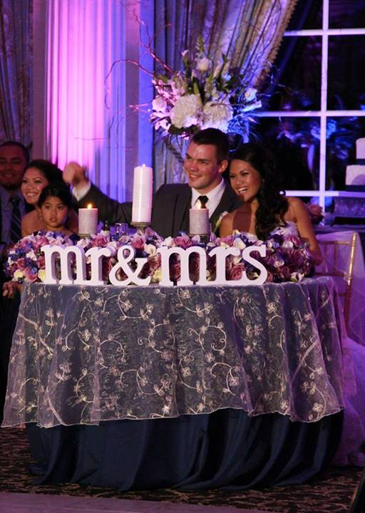 Fete By Design - Ashford Estate Wedding - Sweetheart Table