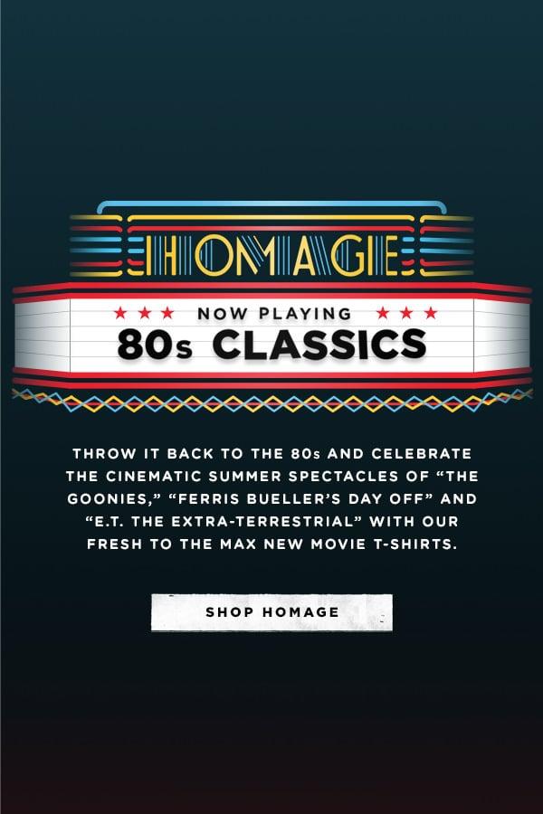 HOMAGE 80's CLASSICS