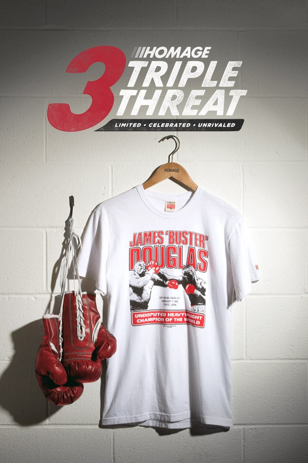HOMAGE James Buster Douglas Tee