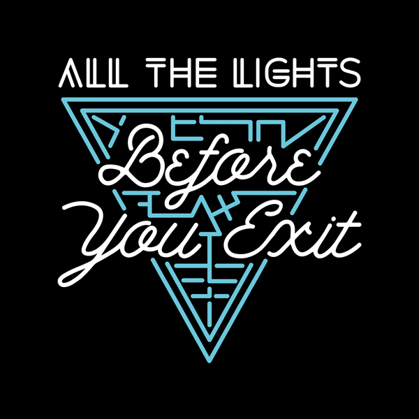 BEFORE YOU EXIT - Pop artists Before You Exit t-shirts, merch, and apparel graphics celebrating the bands 2016 All The Lights release.