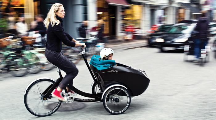 Cargo bikes and family bikes -
