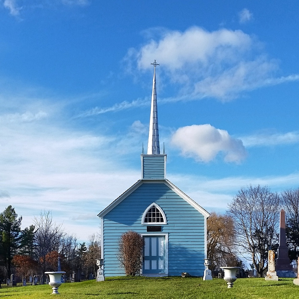 Famous Blue Church