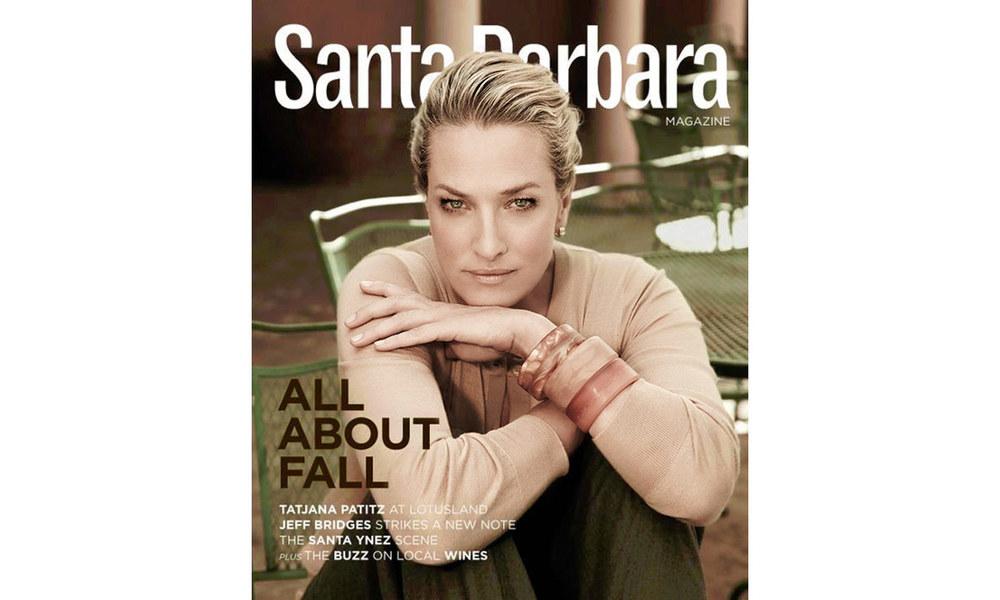 Santa Barbara Magazine - Tatjana Patitz