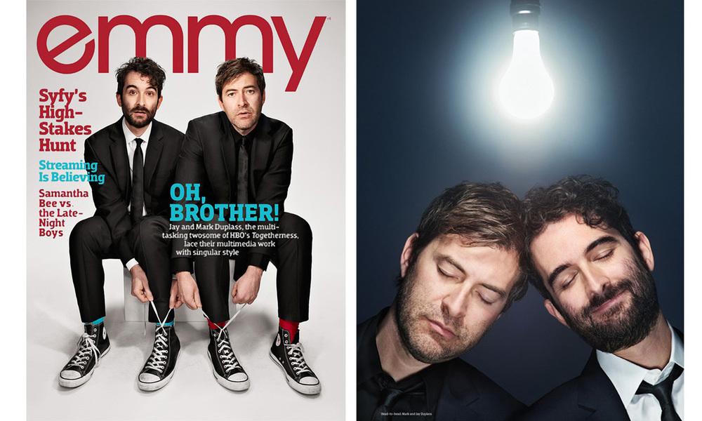 Emmy Magazine - Duplass