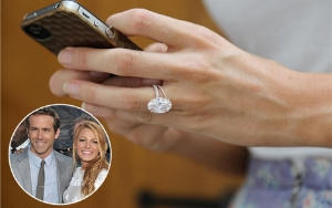 omg how did blake lively's gorgeous engagement ring get in here?! ;)