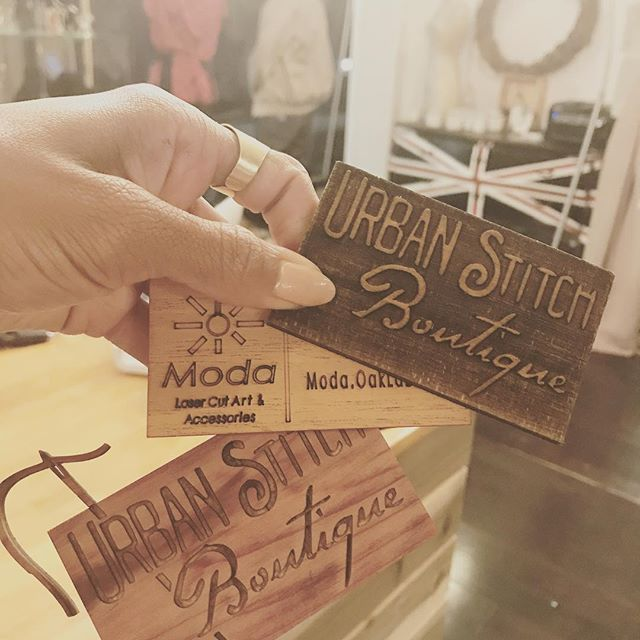 When new vendors introduce themselves with style.... #woodwork #lazercutart #Moda #localmaker #customshwag New pieces coming soon!! #woodjewelry #woodaccessories