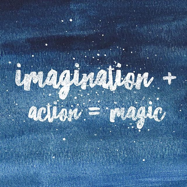 There is a method to manifesting magic  #imagination plus #action equals #magic First you dream.  Then you take a step towards that dream. And repeat. #keepgoing